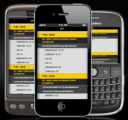 Bookmaker Smart Phone Betting