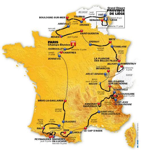Bet on the Tour de France 2012