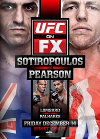 Bet On UFC on FX