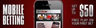 BetOnline.ag Mobile Betting Bonus