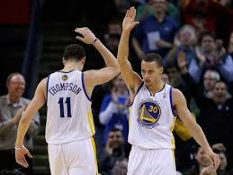 With Draymond Green suspended the Splash Bros will have to step up in a big way.
