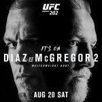 UFC 202 McGregor vs Diaz